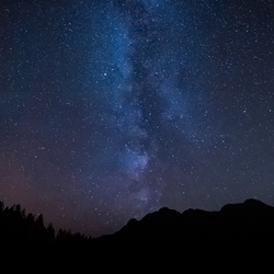 Melkweg in Canada