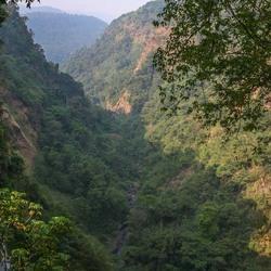 landschap Laos