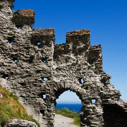 Ruïnes van Tintagel Castle