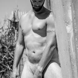 mannelijk naakt