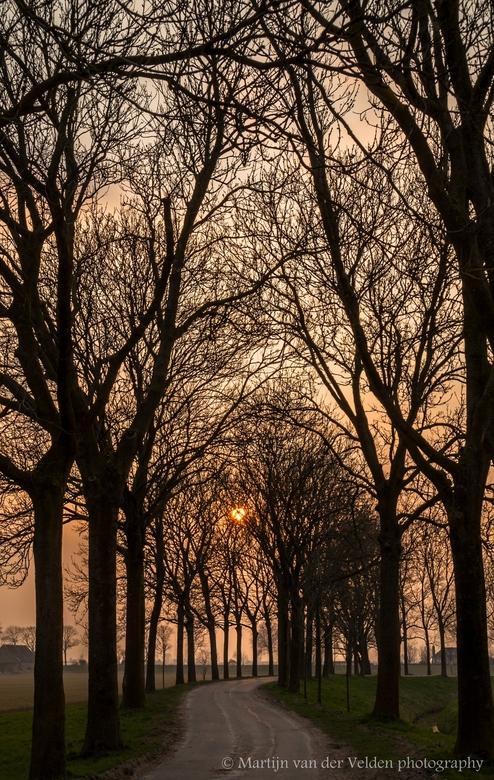 Sunset Hoeksche Waard -