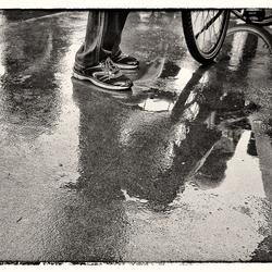 Het was een regenachtige dag