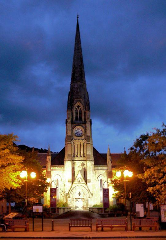 Rob Roy's Museum - Deze oude kerk in Calander Schotland is in gericht als museum voor Rob Roy, een bekend stijder voor een vrij Schotland.<br /> <br