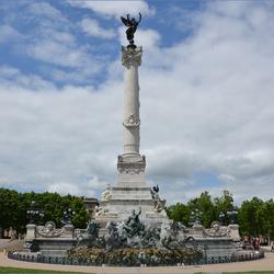 Bordeaux: monuments aux Girondins