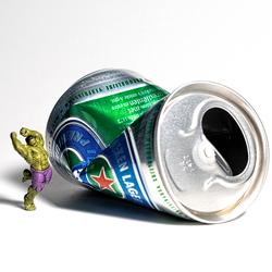 Hulk hates Heineken 0.0