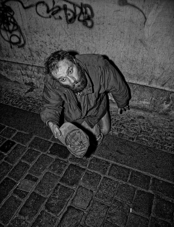 dakloze praag -