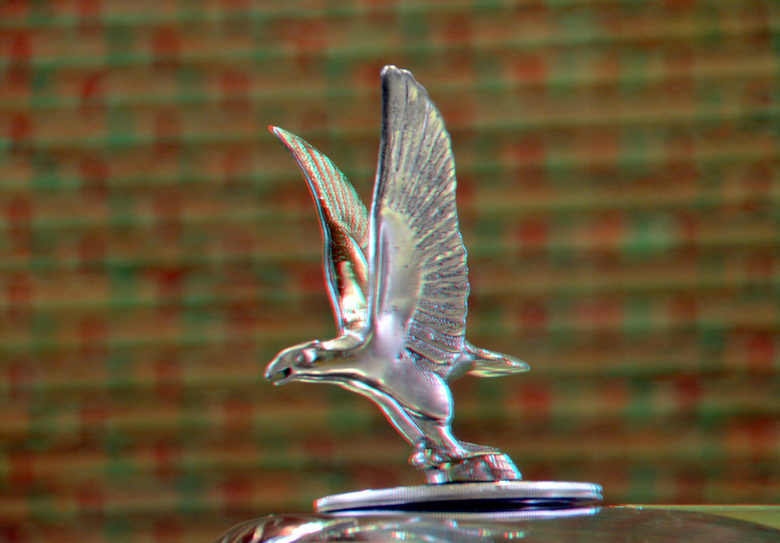 ALVIS 100 years Louwman 3D - ALVIS 100 years Louwman 3D<br /> Bokeh  d7000 18-200<br /> anaglyph stereo red/cyan