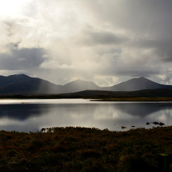 a view to Marrival and Loch Barpa