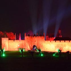 Lichtfestival kasteel Doornenburg