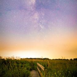 Milkyway over Deventer