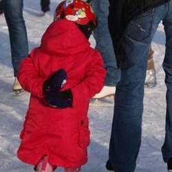 Bewerking: Het rode schaatsmonstertje..