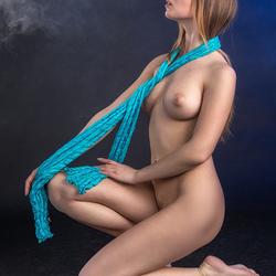 Silvy with scarf