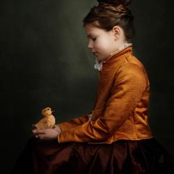 Norah in Rembrandt licht...