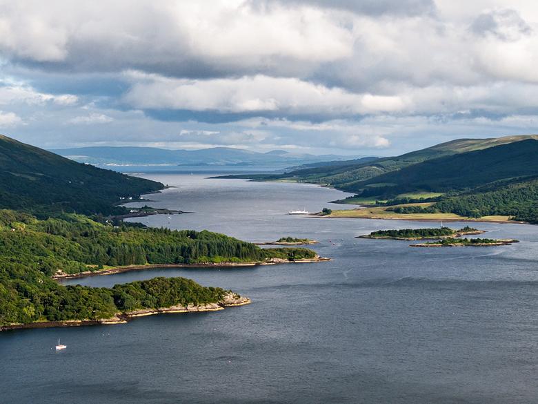 Schotland 17 - Laatste upload van Schotland. Gemaakt op een view point in de heuvels. Prachtige landschappen. Ik kom graag  nog eens terug.