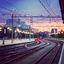 Station Nijmegen in de vroege morgen