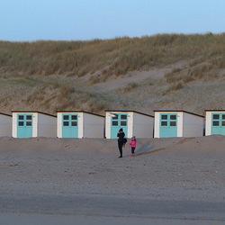 Noordzeestrand Texel.