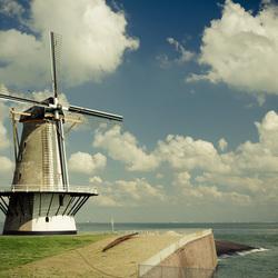 molen aan de kust