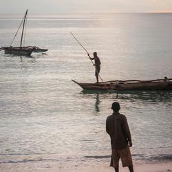 Zanzibar bij zonsopgang