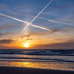 sunset at Noordwijk