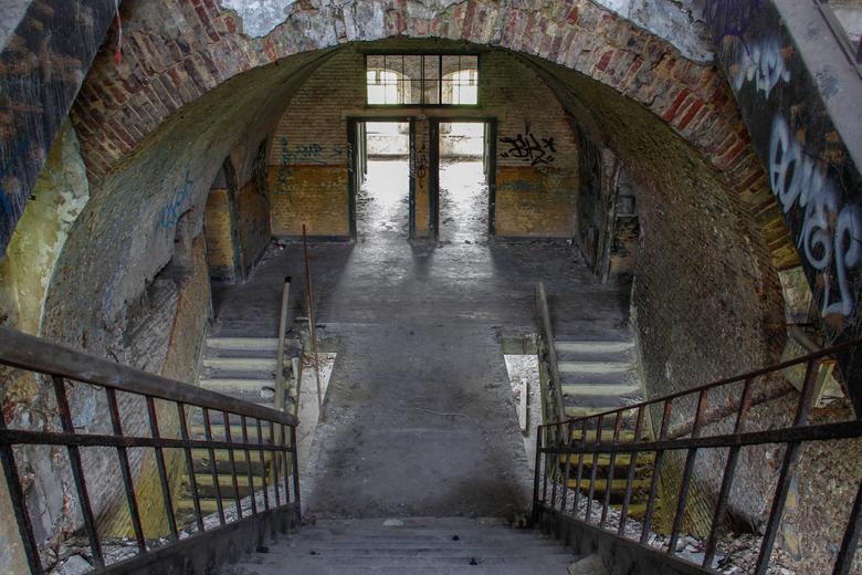 Fort 2 - Oud verlaten fort in de buurt van Luik