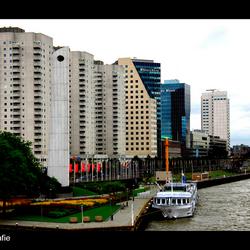 Skyline nieuwe Waterweg