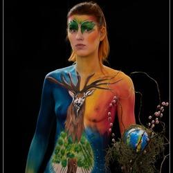 Body Paint...Second Place...BOZAR