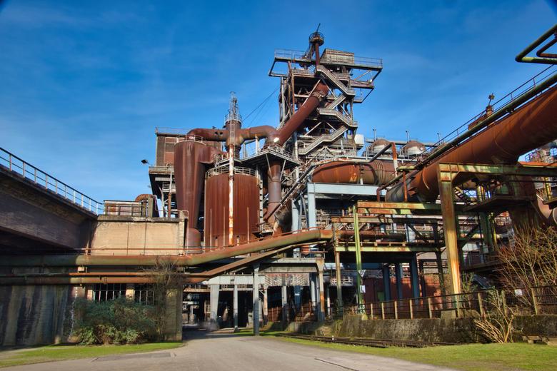 Verlaten fabrijk - In Duisburg nord ligt een prachtige verlaten fabriek. Echt heel leuk om een keer geweest te zijn!