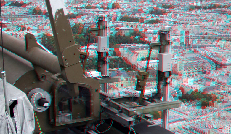 View from Tour Montparnasse Paris 3D - View from Tour Montparnasse Paris 3D<br />