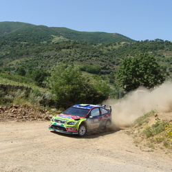 WRC rally Sardinië 2009