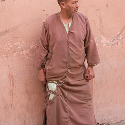 bedelaar in marrakech