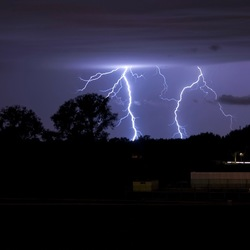 onweer boven de Malpie