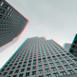 Hoogbouw Den Haag 3D