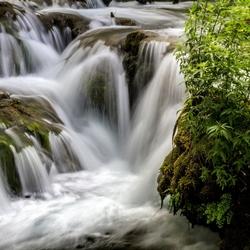 Waterval Krka Kroatie.