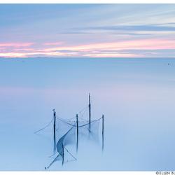 Zonsondergang afsluitdijk #1
