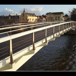 Loopbrug in Alkmaar
