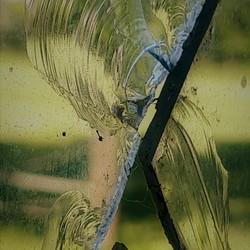 kunstig met glas