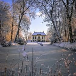 Nijenburg in de winter