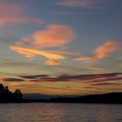 Zweden 4 Zonsondergang