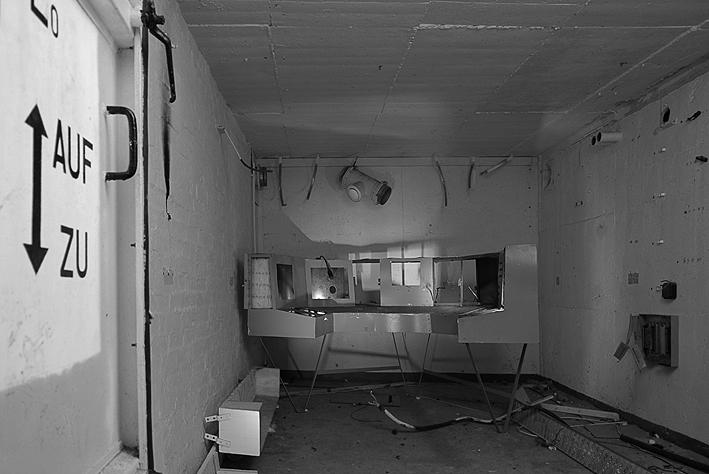 Masow de Commando kamer   4 - In de Commando kamer (wat er nog van over is ) in bunker van Masow