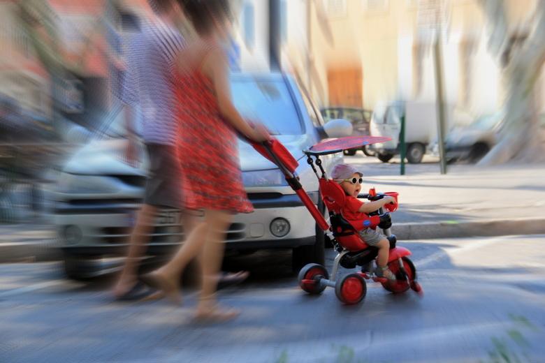 Snelheid: snel(le) jong(en) - Dit is wel een hele snelle jongen...