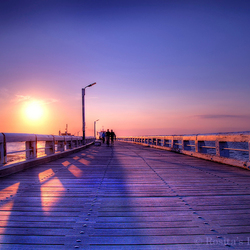 The bridge to the Sea