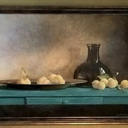 Schilderij gemaakt naar idee van Henk Helmantel