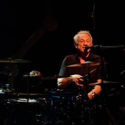 The Nits: drummer Rob Kloet (02)...