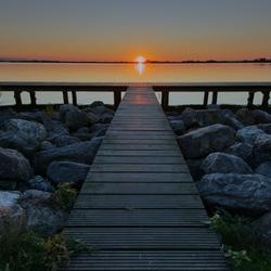 Sunset Schildmeer Groningen