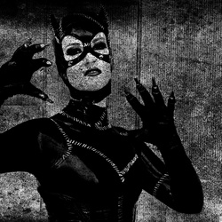 Catwoman at night ...