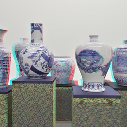 Raed Yassin vases Witte de With Rotterdam 3D