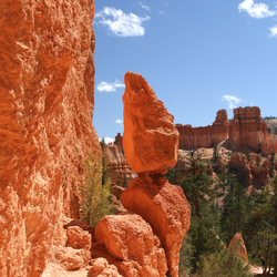 Bryce Canyon, USA, hiking the Navajo Trail.