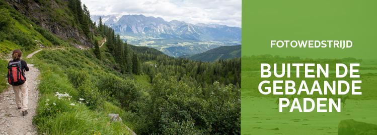 fotowedstrijd: Buiten de gebaande paden