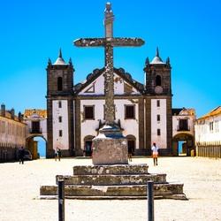 Santuario de Nossa Senhora do Cabo Espichel, Portugal.