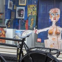 Geen fietsen aub